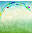 abstract spring background vector image