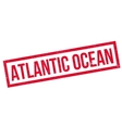 Atlantic Ocean rubber stamp vector image