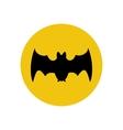 Bat silhouette vector image