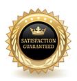 Satisfaction Guaranteed vector image