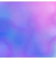 Abstract blurred background Pink and blue shades vector image