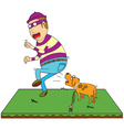 Security Dog vector image