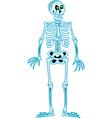 Skeleton Sketch vector image vector image