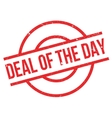 Deal Of The Day rubber stamp vector image