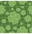Seamless pattern St Patricks Day vector image