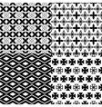 set of geometric seamless vector image