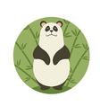 Smiling Panda vector image