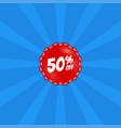 big sale poster banner special offer vector image