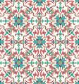 Hand drawing zentangle mandala color seamless vector image