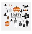 Halloween Siluettes vector image