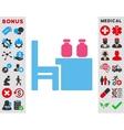 Apothecary Table Icon vector image