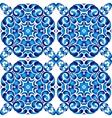 seamless background Damask floral pattern vector image