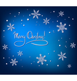 Christmas Abstract Card vector image vector image