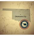 Oklahoma vector image