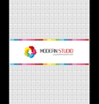 Corporate folder vector image vector image