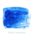 navy blue indigo watercolor texture background vector image