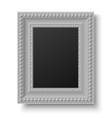 Vintage picture frame for text or picture vector image