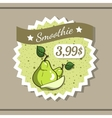 Smoothie Sticker 1 vector image