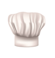 Chefs hat cut out vector image