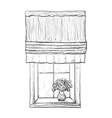 Hand drawn Windows Sketch vector image
