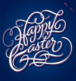 HAPPY EASTER hand lettering vector image