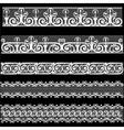Set lace vector image