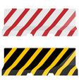 Road barrier set vector image