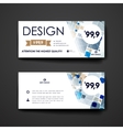 Set of modern design banner template in abstract vector image