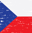 Textured Flag vector image