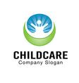 Child Care Design vector image