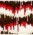 Chocolate and glaze seamless vector image vector image