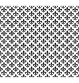 Fleur de lis black and white seamless pattern vector image