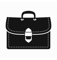 Business briefcase icon simple style vector image