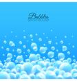 Bubbles Underwater Background vector image