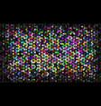 multicolor mosaic vector image