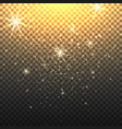 stardust backdrop with transparent background vector image