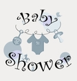 - baby icons set vector image