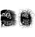 coffee cups vector image vector image