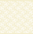 beige dandelion seamless pattern vector image