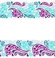 Water splash seamless waves abstract pattern vector image