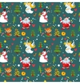 new years background christmas wallpaper vector image vector image