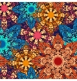 mandala seamless pattern 1 vector image