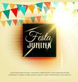 june party of festa junina latin american festival vector image