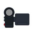 color image digital video camera device vector image