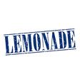 lemonade blue grunge vintage stamp isolated on vector image