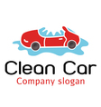 Clean Car Design vector image