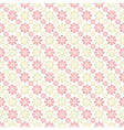 Delicate lovely seamless pattern tiling vector image