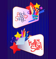 education cartoon banner vector image