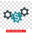 Business Gears Icon vector image