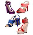 al 0935 shoes 01 vector image vector image